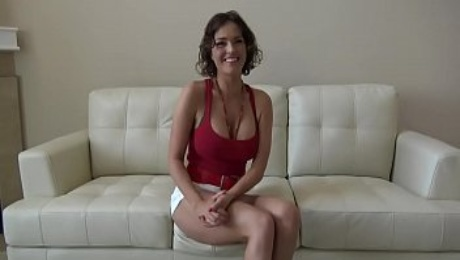 Dirty MILF fucks and spreads her creamy pussy