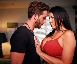 Excited busty angel Reagan Foxx likes hardcore dick riding